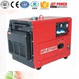 generatore raffreddato aria di 5kw 6kw 7kw, generatore diesel silenzioso portatile