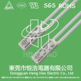 Interruptor bimetálico de la temperatura para la batería recargable