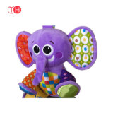 Het Speelgoed van Keychain van de Pluche van de Jonge geitjes van de Baby van de Fabrikant van China met Borduurwerk