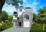 경제 고품질은 빨리 조립식 가벼운 강철 별장 집을 조립한다