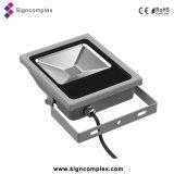 Ahorro de energía de la industria resistente al agua IP65 Slim COB proyector LED RGB