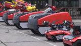 Train d'atterrissage de chenille de robot de lutte contre l'incendie (K02SP6MAVT500)