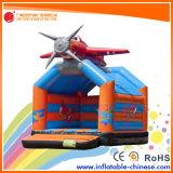 膨脹可能な飛行機の子供(T1009)のための跳躍のMoonwalkの警備員