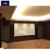 Xy экраны проектора экран производителя HK80c-MF1 3D с высоким коэффициентом усиления разорванные неподвижной рамкой проекционного экрана
