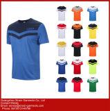 Kundenspezifisches Wärmeübertragung-gedrucktes dünnes Sitz-T-Shirt (R88)