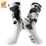 Qualitäts-komprimierende Sport-Mann-Socken kundenspezifisch anfertigen