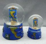 A Grécia de resina Artesanato Turístico da bola de neve