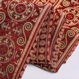 Tessuto del sofà del Chenille del Medio Oriente per la tenda ed il sofà
