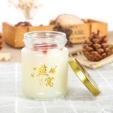 Мини-стеклянную бутылку со стеклянным кувшином для птичьи замятие Jar стеклянные баночки меда