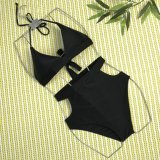 새로운 디자인 적절한 수영복 높 허리 섹시한 비키니 여자 수영복 2018년