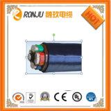 Kvv Kvvr Kvvp 다중 코어 방수 알루미늄 호일 구리는 PVC/XLPE에 의하여 격리된 PVC 칼집에 의하여 보호된 연약한 통제 고압선을 땋았다