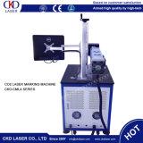 Machine en plastique de Lase de CO2 de Fibric de haute précision de pipe de HDPE de PE de PVC de pp