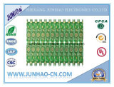 2 Layer Fr4 Double-Side Verde PCB OSP