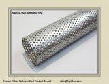 Tubo perforato dell'acciaio inossidabile del silenziatore dello scarico di Ss409 63.5*1.2 millimetro