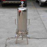 RO Purificador de agua de acero inoxidable pulido de filtración de la caja del filtro de cartucho sanitarias