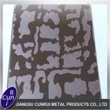 Placa de acero inoxidable 304 201 el grabar al agua fuerte/grabado al agua fuerte/haber coloreado