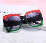 2017 lunettes de soleil Cj9004 de fumée de couleur du bâti UV400 de grand dos de type d'Europ Vintate de mode en stock