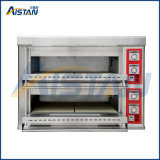 Кпо-X4 электрический коммерческих 2 уровня 4 - лоток пицца печь /форма для выпечки хлеба печь с эго термостат