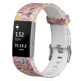 De etnische Riem van de Vervanging van het Horloge van het Silicone van de Stijl voor Fitbit Last 2 de Band van het Horloge