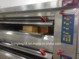 De Apparatuur van de bakkerij, 3-dek 9-dienblad Luxueuze Elektrische Oven