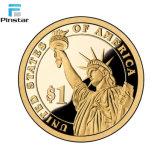 Manufatura da moeda da medalha da venda por atacado da moeda de Antiqu e da medalha do costume