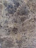 Mattonelle di marmo scure delle lastre di Emperador