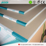 Cartón yeso común de Jason para el techo Material-12mm