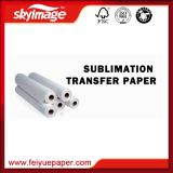 """ papel de transferência Anti-Ondulado do Sublimation 65GSM 44"