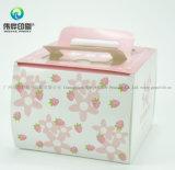 Drucken gewellte Geschenk-Papier-Tortenschachtel anpassen