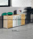 Büro-hölzerner Möbel-Büro-Schreibtisch mit Schrank-Büro-Schreibtisch