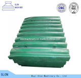 De Plaat van de Kaak van de Vervangstukken van de Maalmachine van de Kaak van Nordberg Metso van het Staal van het mangaan C106