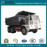 使用されたトラックHOWO鉱山のダンプトラック50トンのトラック