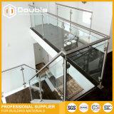 Pasamano de cristal del balaustre de cristal de la barandilla para el balcón/las escaleras