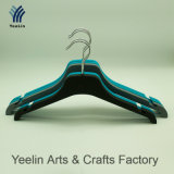 Yeelin Rubberized la bride de fixation en plastique de PVC avec l'encoche du côté