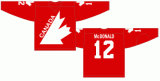 Venda a quente # 7 Canadá 1972 Home Hóquei no Gelo Jersey
