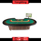 Tabela luxuosa profissional do póquer do Baccarat com manufatura da tabela do póquer do Baccarat do jogador da bandeja 9 da microplaqueta (YM-BA07)