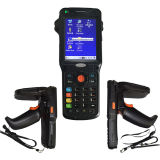 Langer der Reichweiten-Zk-RFID9150 Handleser Abstand UHFRFID mit WiFi GPRS 3G 1d 2D Barcode-Scanner