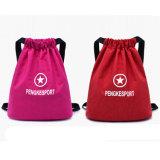 Promotion des sports de randonnée coulisse en nylon sac à dos Sac de voyage