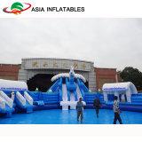 Aufblasbarer Iceworld Thema-Wasser-Park, aufblasbarer Kind-Spaß-Park