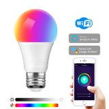 Mit Alexa Google HauptIfttt Iot Tuya intelligentem Haus kein erforderliches 6500K RGB kaltes Weiß der Naben-und RGB-Farbe bearbeiten, die E26 E27 10W WiFi intelligente LED Birne ändern