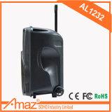 El portón de fútbol de altavoz activo Caps Powered PA Sistema de altavoces con micrófono inalámbrico Al1232 Temeisheng Kvg