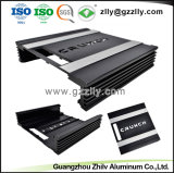 車のアンプのためのISO9001黒い切り分けられたアルミニウム機構