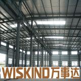 Camera prefabbricata chiara della struttura d'acciaio per la tettoia del pollo del magazzino