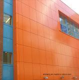 塗られるアルミニウムプラスチック合成のパネルポリエステル