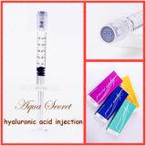 Ampliación de las inyecciones del tope de Acido Hialuronico del llenador