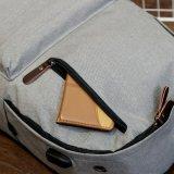 ティーネージャーMochilaのための2017の外部充満USBのバックパックの女性旅行袋のキャンバスのバックパックの大学生の学校のバックパック袋