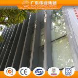 オフィスおよびショッピングモールのためのアルミニウムガラスカーテン・ウォールシステム