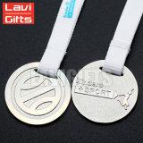 安いカスタムブランク金属の円形浮彫り、ブランクニッケルメッキメダル