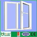 주문을 받아서 만들어진 색깔 두 배 강화 유리 알루미늄 여닫이 창 Windows