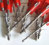 Молоток плюс максимальные перекрестные буровые наконечники, буровой наконечник SDS, бит бурильного молотка